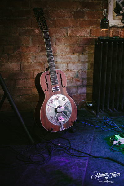 Charlie Parr's National Resonator