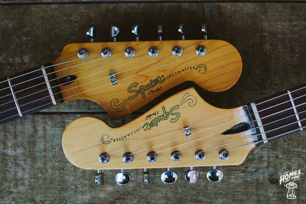 Squier Vintage Modified Headstock Refin