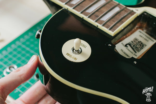 How to wire a Les Paul switch