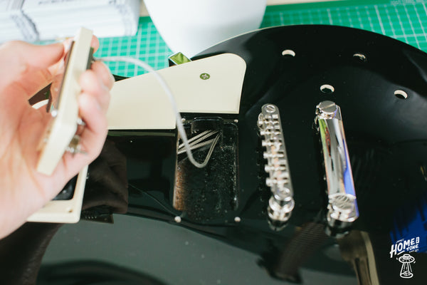 How to install a Les Paul harness