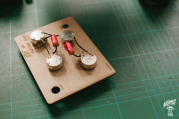 How to install a Les Paul wiring harness