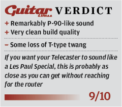 Guitar & Bass T-Bar Verdict