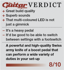Guitar Magazine Jackson Audio PRISM review