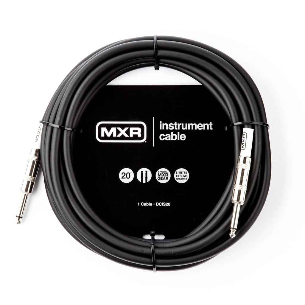 MXR Instrument Cable - STANDARD INSTRUMENT CABLE 20ft Straight DCIS20