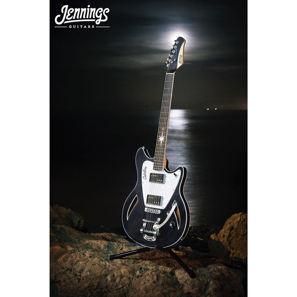 Jennings Guitars - Catalina custom build information