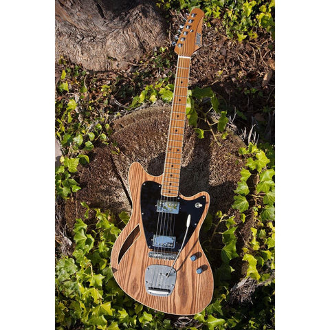 Jennings Guitars - Voyager Deluxe custom build information