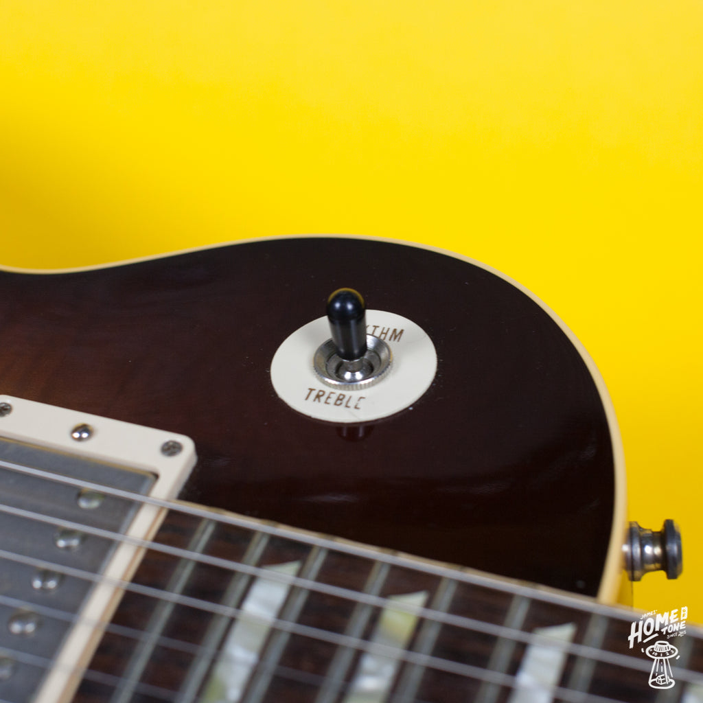 SWITCH TIP for TOGGLE SWITCH Cream//Black//White Gibson Epiphone Style guitars
