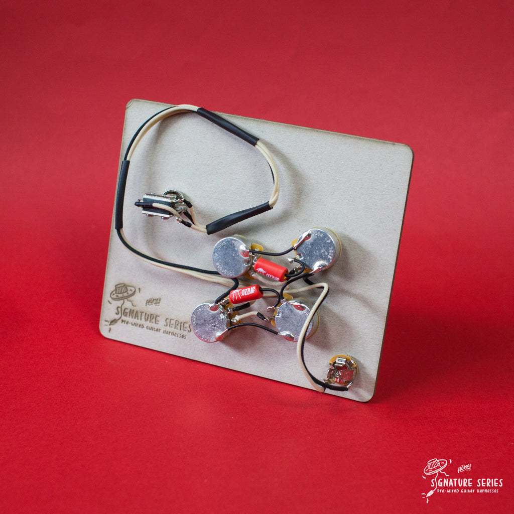 Pre-Wired Guitar wiring harness | Telecaster Custom | Right Handed