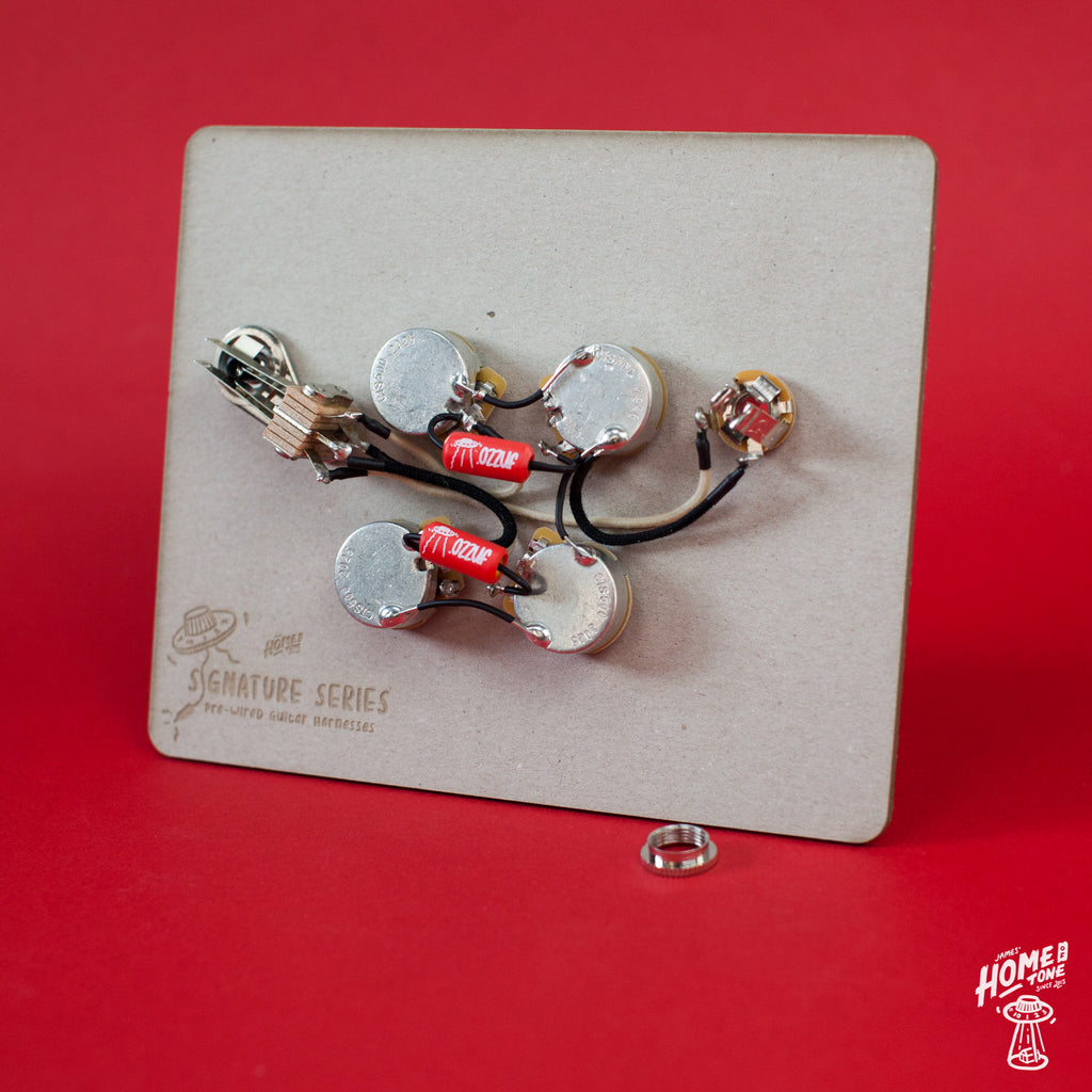 Pre-Wired Guitar wiring harness | SG kit | Right Handed & Left Handed