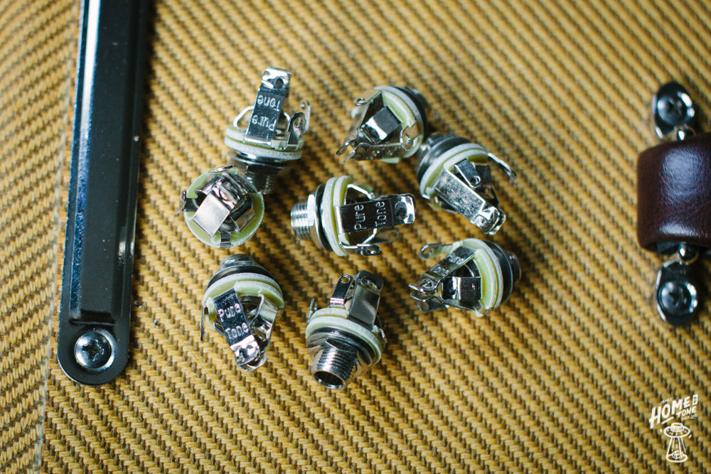 "Pure Tone - Multi-Contact 1/4"" output jack socket"