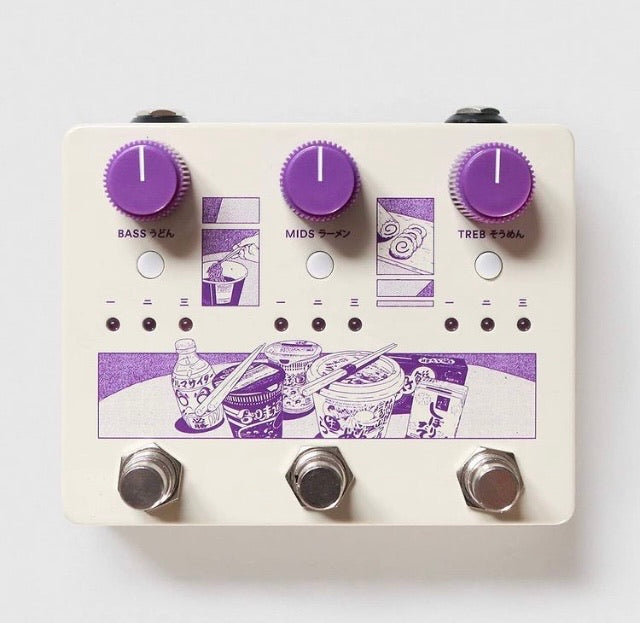 Ground Control Audio - NOODLES- 3-band active EQ/boost pedal PRE-ORDER