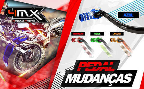 4mx Pedal de Mudanças 4MX - Motocross Outlet - 1