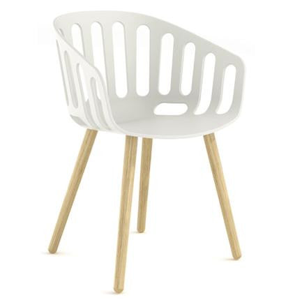 Basket Chair Beech Leg Frame