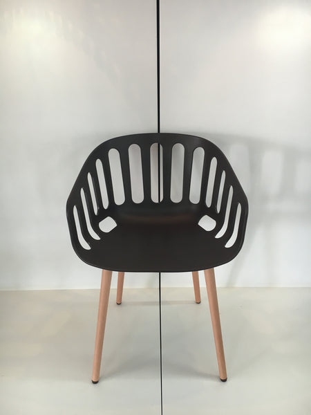 Basket Chair BL Stock