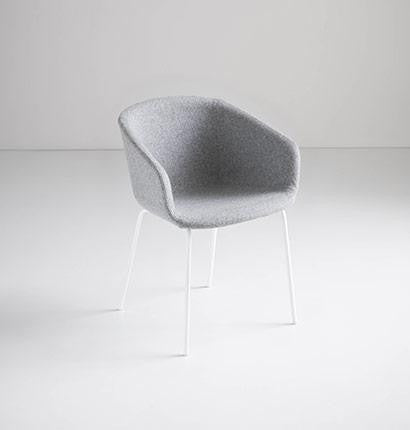 Basket Chair Upholstered