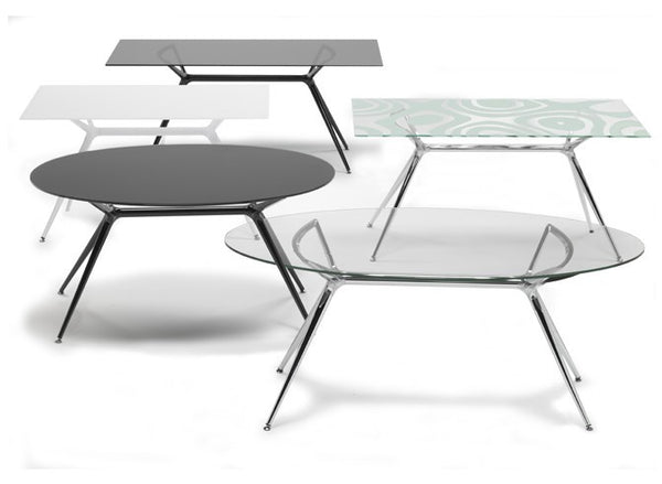 Glass Rectangular Top for Metropolis Table