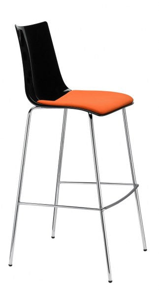 Zebra Antishock Barstool with Cushion 2545/2546