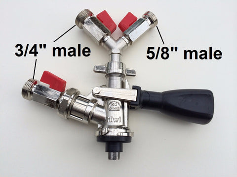 Manual Filling Head: S-type fitting