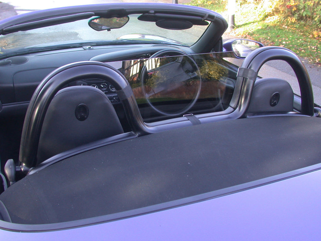 porsche boxster 986 1996 2004 half size wind deflector tinted