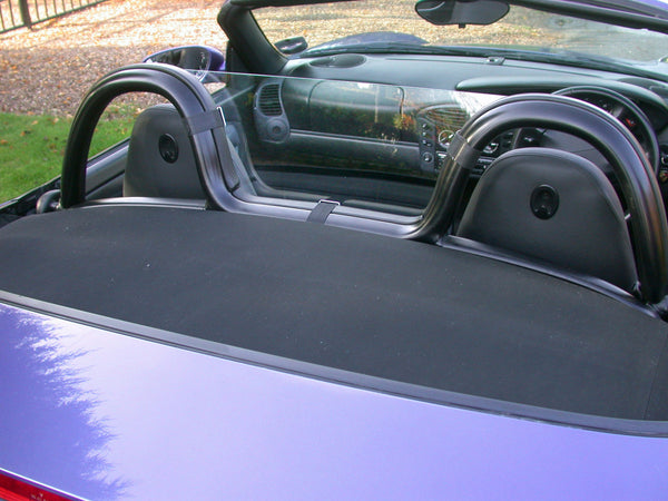 porsche boxster 986 1996 2004 half size wind deflector clear