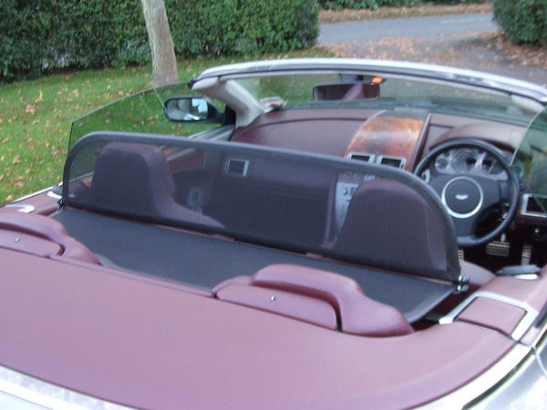 aston martin db9 volante wind deflector 2005 onwards black