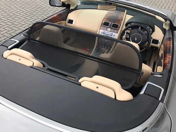 Aston Martin DB9 Volante Wind Deflector 2005-onwards Mesh Black