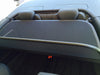audi a3 2009 2014 black mesh wind deflector