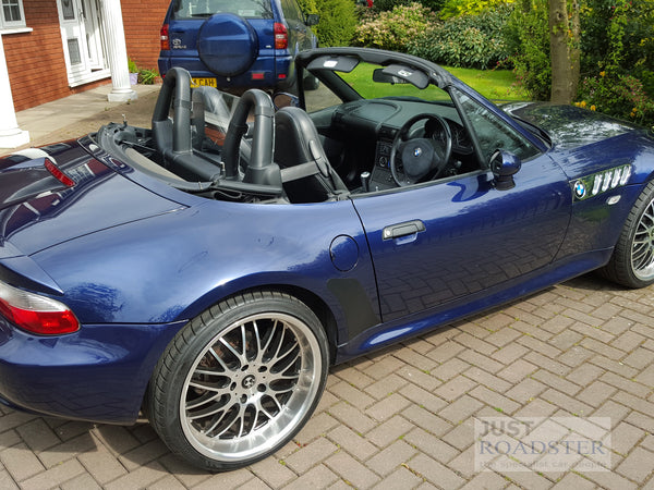 Bmw Z3 Wind Deflector To Fit Standard Roll Bars Clear