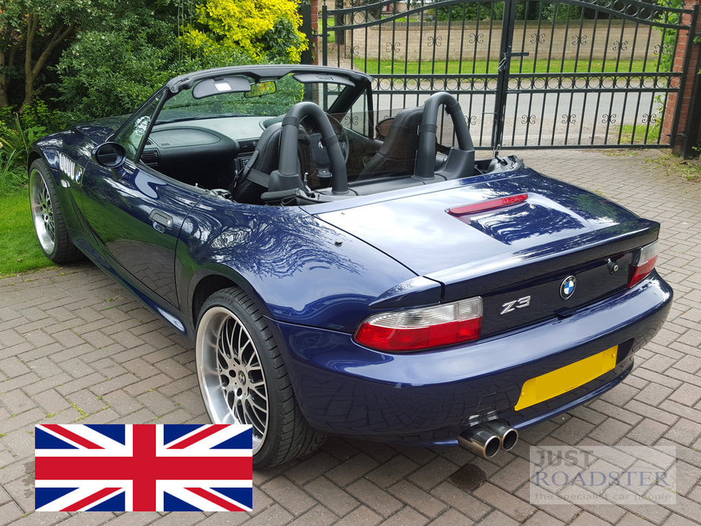 Bmw Z3 Wind Deflector To Fit Standard Roll Bars Tinted