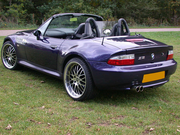 Bmw Z3 Wind Deflector To Fit Standard Roll Bars Clear Perspex Just Roadster Ltd