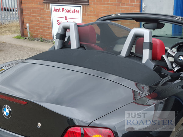 Bmw Z4 E85 Wind Deflector 2002 2008 Black Mesh Just