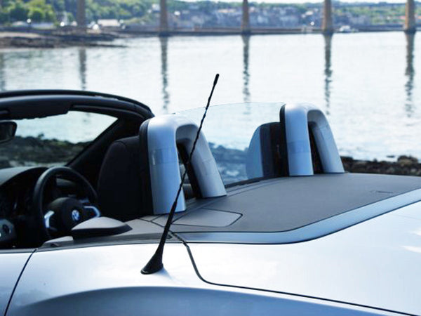 bmw z4 e89 2009 onwards wind deflector clear