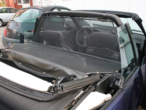 ford escort mk5 convertible wind deflector 1990 1998 black
