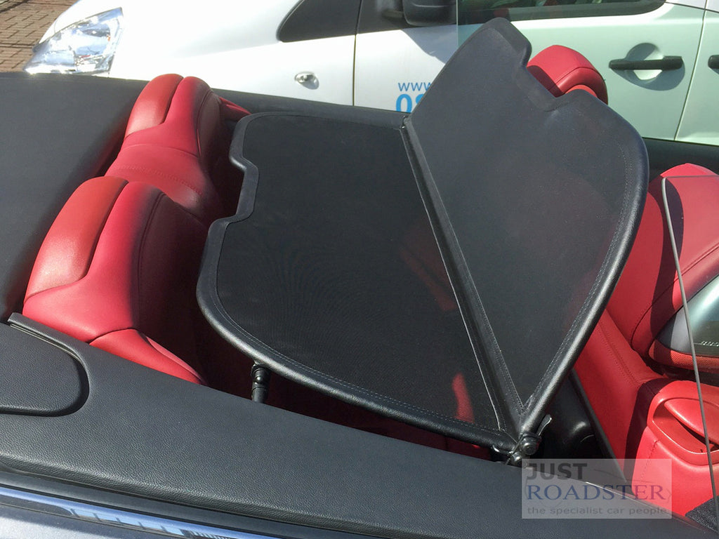 infiniti g37 convertible wind deflector 2009-2016 black