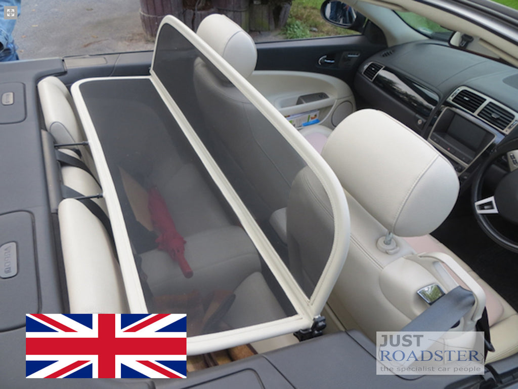 Jaguar XK, XKR, X150 Wind Deflector 2006 onwards Ivory Frame
