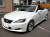 lexus is 250 convertible wind deflector 2009 onwards black