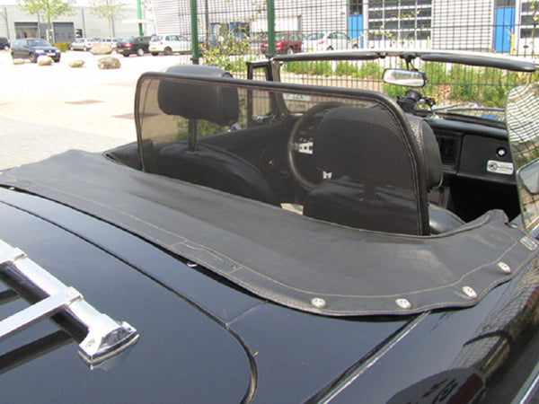 mgb wind deflector 1962 1980 mesh black