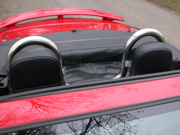 mazda mx5 mk2 and mk2 5 1998 2005 tt style wind deflector 1