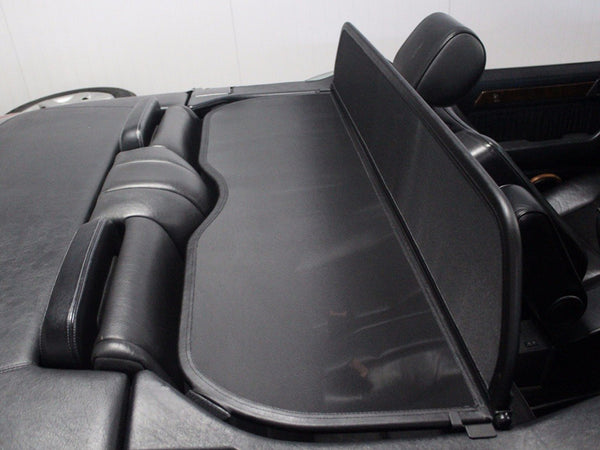 Mercedes A124 (Original Design) Wind Deflector Mesh Black 1991-1997