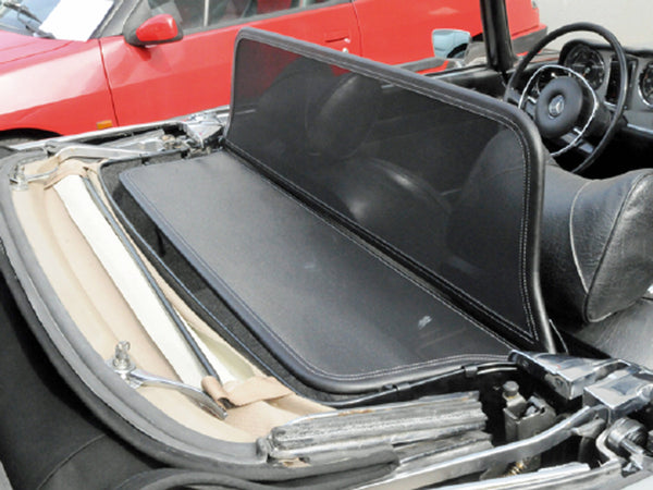 mercedes w113 pagode wind deflector 1963 1971 black