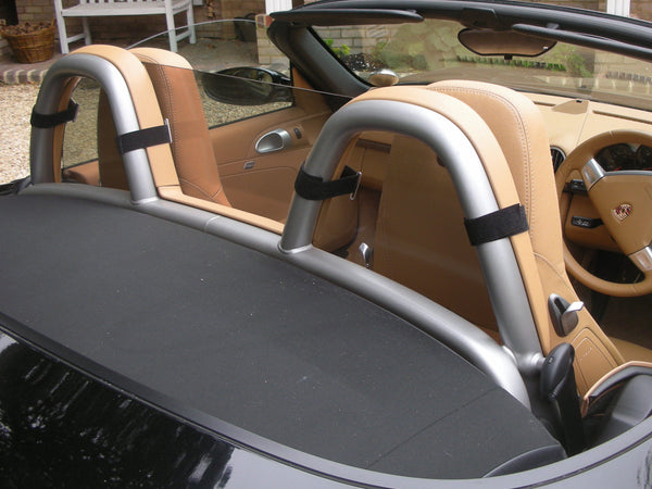 porsche boxster 987 2005 2011 full size wind deflector tinted