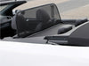 volkswagen golf mk6 2011 on black mesh wind deflector
