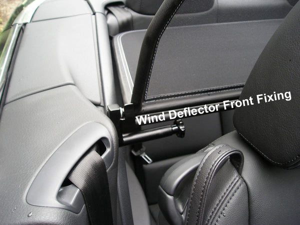 Volkswagen Eos Wind Deflector 2006 2016 Mesh Black Just