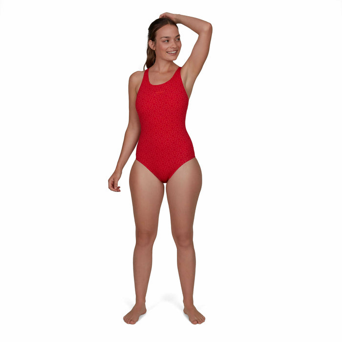 Boomstar Muscleback Swimsuit Rood - Watermelon