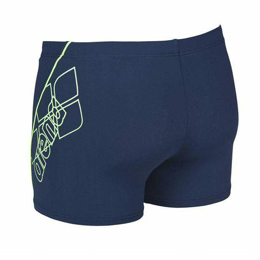 M Bayron Short Navy - Shiny Groen