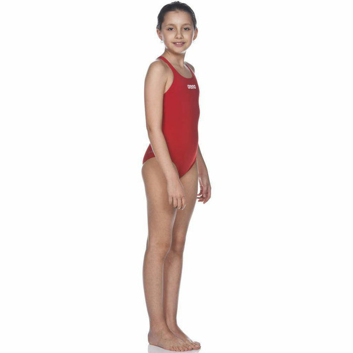 G Solid Swim Pro Junior Rood - Wit