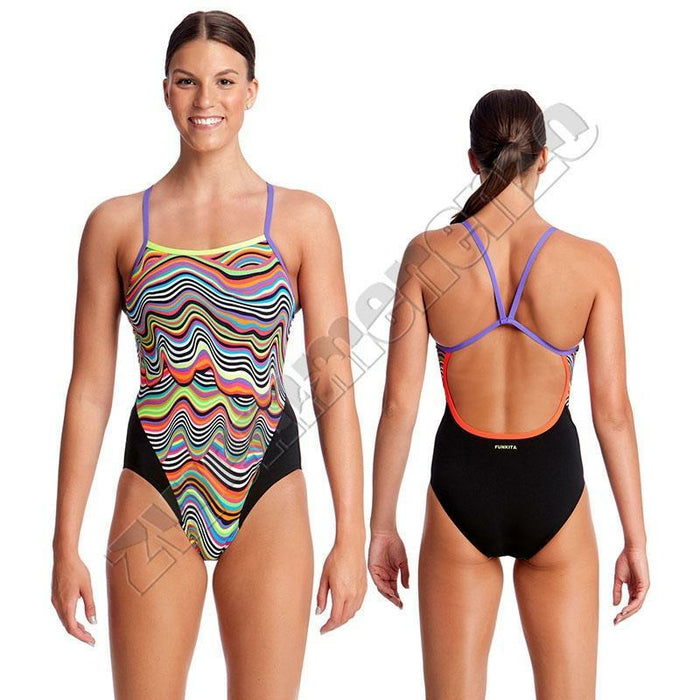 Funkita Girls Single Strap Dripping