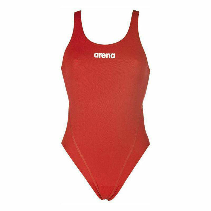 W Solid Swim Tech High red/white