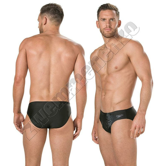 Speedo Gala Logo 7cm brief black/grey