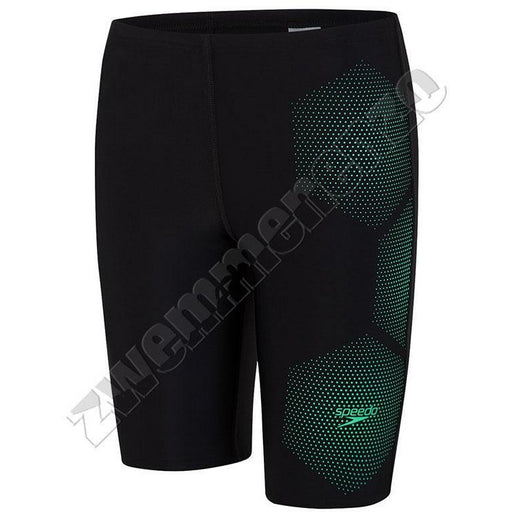 Speedo Tech Placement Jammer black/green